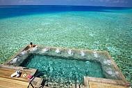 Bể Bơi Vô Cực Tại Maldives