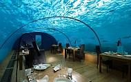 Huvafen Fushi khách sạn đẹp lung linh dưới nước tại Maldives