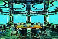 Khám phá lòng đại dương huyền ảo từ nhà hàng dưới nước tại Maldives