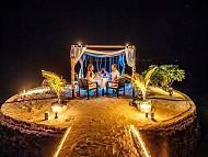 Thưởng thức bữa tối cực kỳ lãng mạn cho các cặp đôi tại Maldives