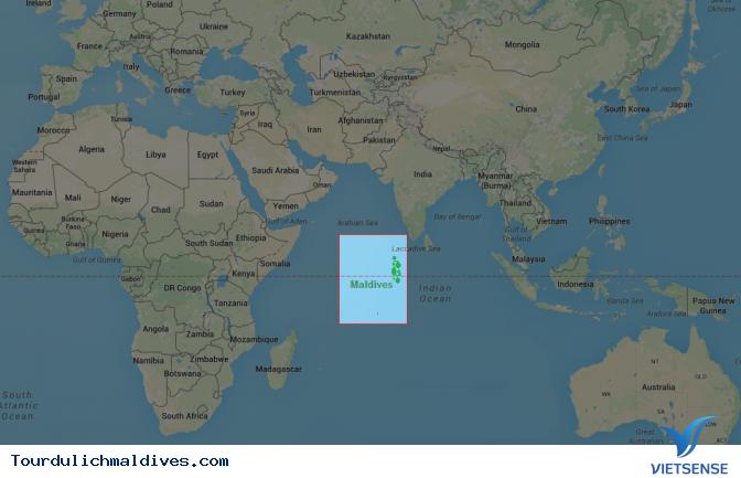 Bản đồ Maldives không thể thiếu khi đi du lịch - Ảnh 1