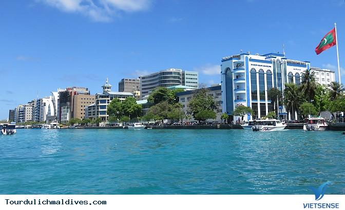 Cuộc sống thường ngày thú vị tại thủ đô của Maldives - Ảnh 1