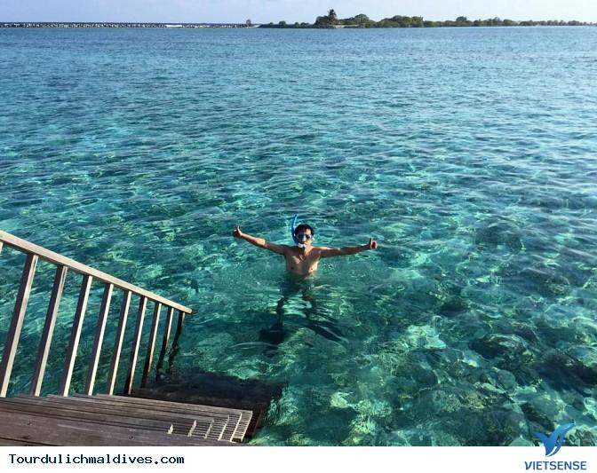 Hình ảnh chân thực về chuyến du lịch Maldives 27/2 - Ảnh 14