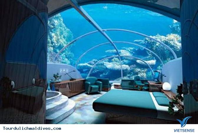 Huvafen Fushi khách sạn đẹp lung linh dưới nước tại Maldives - Ảnh 4