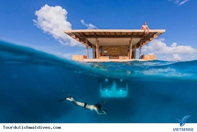 Huvafen Fushi khách sạn đẹp lung linh dưới nước tại Maldives - Ảnh 5