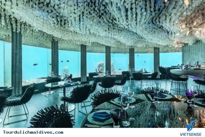 Huvafen Fushi khách sạn đẹp lung linh dưới nước tại Maldives - Ảnh 9