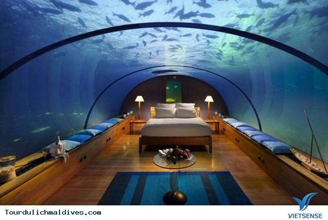 Huvafen Fushi khách sạn đẹp lung linh dưới nước tại Maldives - Ảnh 8