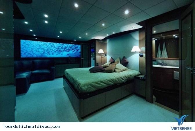 Huvafen Fushi khách sạn đẹp lung linh dưới nước tại Maldives - Ảnh 13