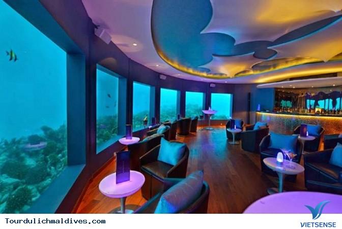 Huvafen Fushi khách sạn đẹp lung linh dưới nước tại Maldives - Ảnh 10