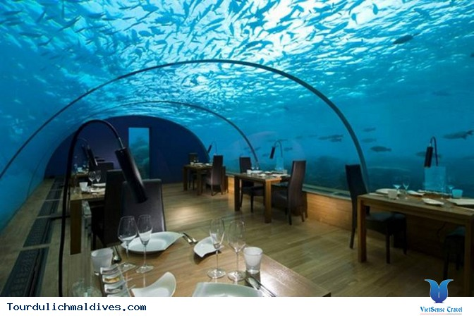 Huvafen Fushi khách sạn đẹp lung linh dưới nước tại Maldives - Ảnh 7