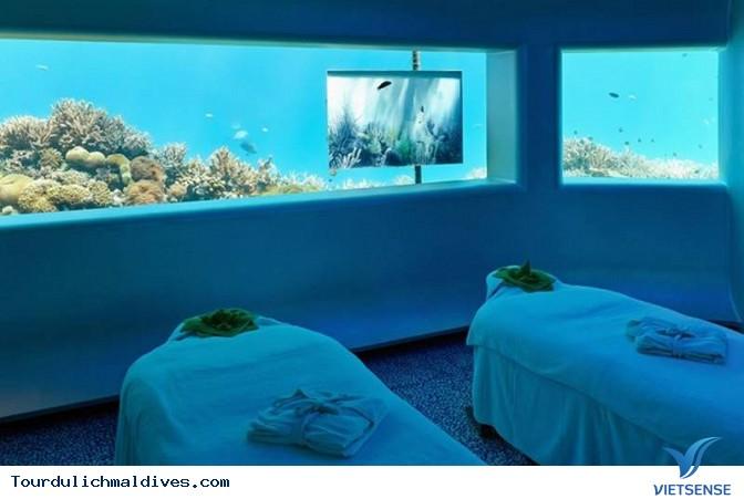 Huvafen Fushi khách sạn đẹp lung linh dưới nước tại Maldives - Ảnh 12