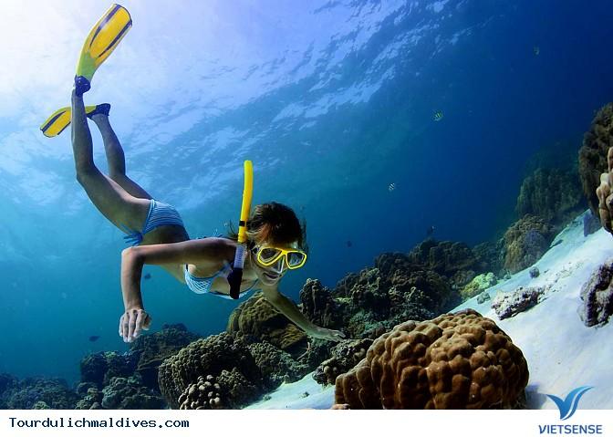 Maldives sắp chìm và biến mất khi nước biển dâng lên - Ảnh 6