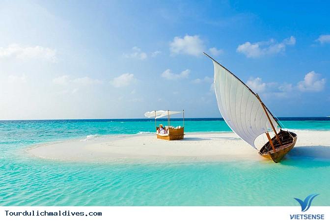 Maldives sắp chìm và biến mất khi nước biển dâng lên - Ảnh 1