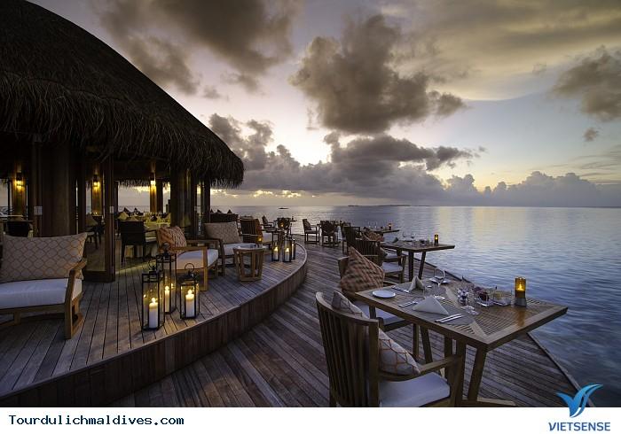 Chiêm ngưỡng những resort đẳng cấp nhất ở Maldives - Ảnh 5