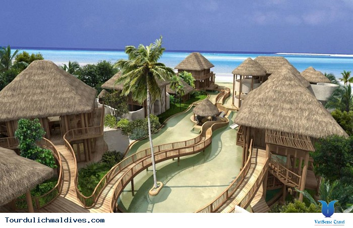 Chiêm ngưỡng những resort đẳng cấp nhất ở Maldives - Ảnh 3