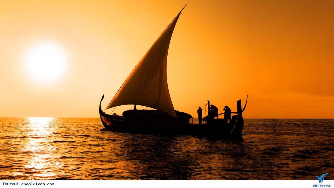 Câu cá hoạt động không thể thiếu khi du lịch Maldives