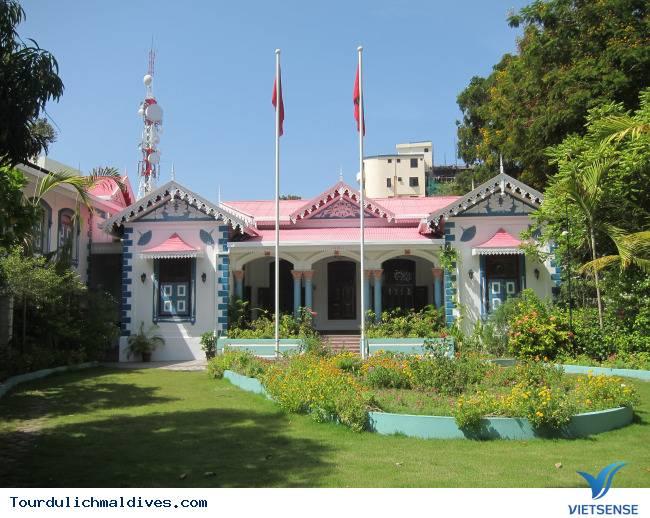 Cung Dien Sultan - Bao Tang Quoc Gia Maldivan,cung dien sultan  bao tang quoc gia maldivan