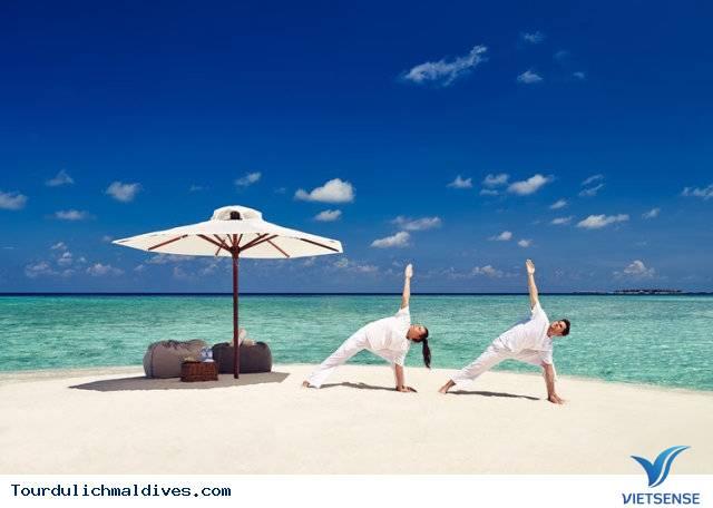 Tập thể dụng tại maldives
