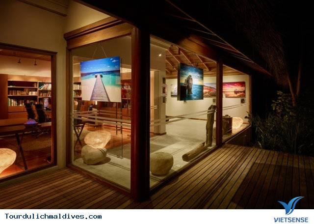 Huvafen Fushi khách sạn đẹp lung linh dưới nước tại Maldives - Ảnh 15