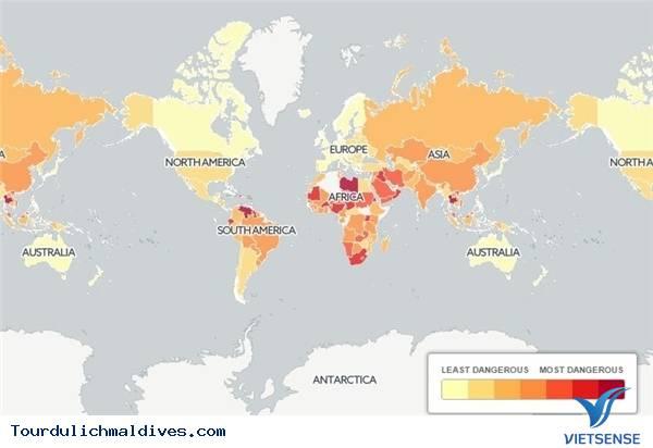 Maldives - nơi có giao thông an toàn nhất thế giới